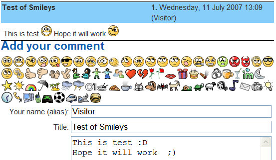 smiley smileys